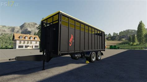 fliegl animal trailer   fs mods