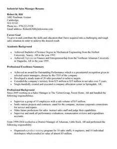 industrial resume templates outbound sales resume