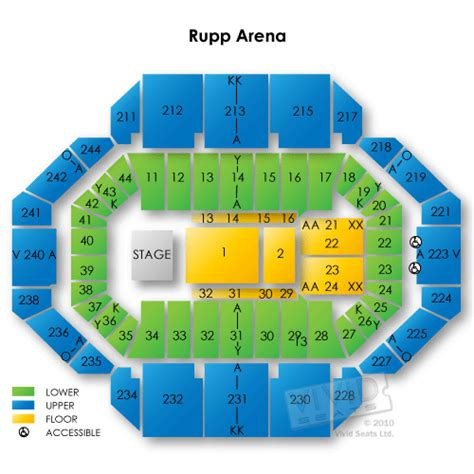 seating chart rupp arena rupp arena map related keywords rupp arena map