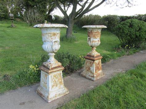 antiques atlas pair large cast iron urns