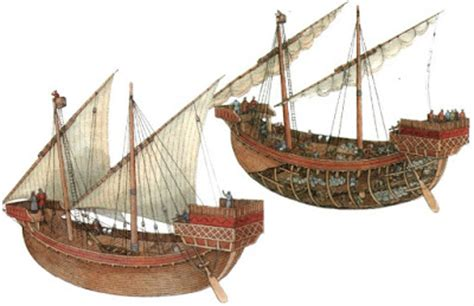 whaling longboat cog and galley general ship types