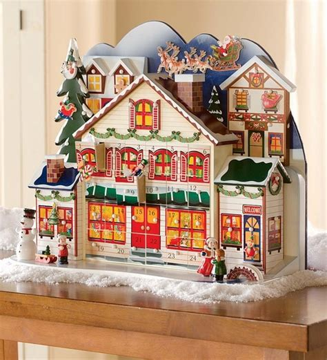 wooden advent calendar house wooden advent calendars a pleasant christmas surprise for every day