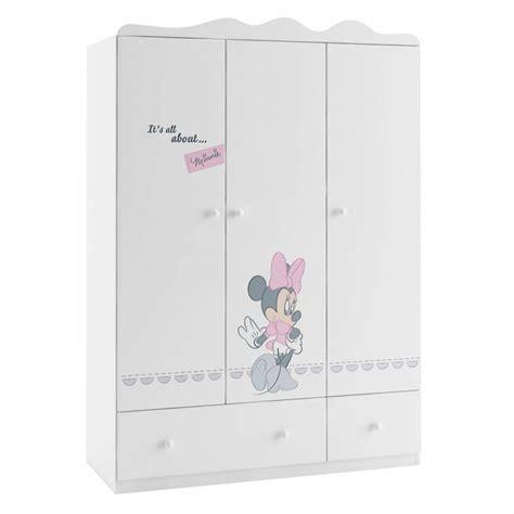 mini kleiderschrank armoire minnie mouse 135 cm azura home design