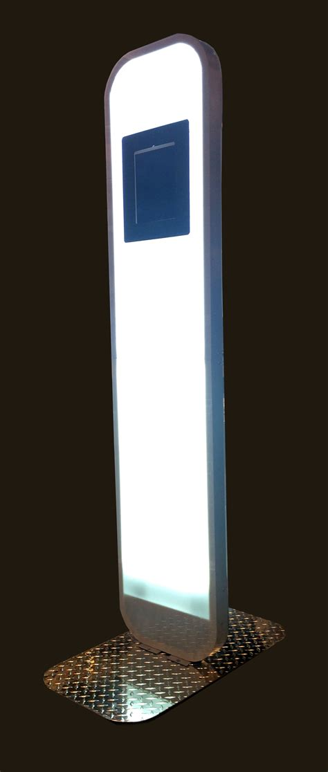 photo booth stand with light 595 750 photo kiosk photo booth biz