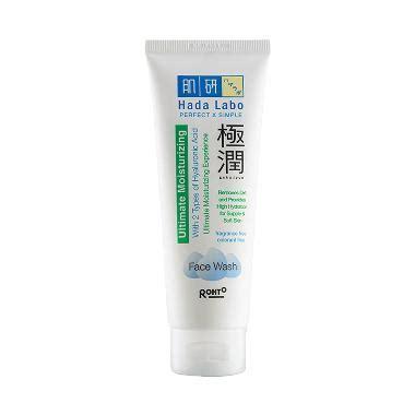 Hada Labo Gokujyun Ultimate Moisturizing Wash 100gr Skc02267 jual hada labo gokujyun ultimate moisturizing wash
