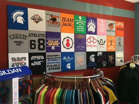 best t shirt shop 14 best t shirt display images on