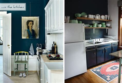 dark blue kitchen walls unidentified lifestyle by maria matiopoulou styling