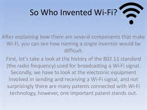 Who Made Who Invented Wi Fi