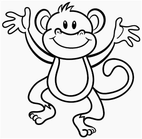 monkey coloring pages online coloring pictures of monkeys free coloring pictures