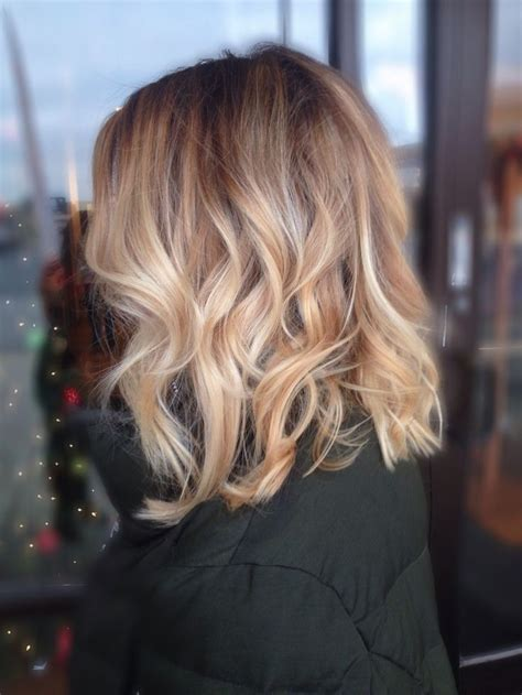 balayage blonde hair bob 19 fall winter outfit idea s to copy right now messy