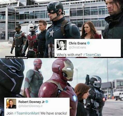 Cap Memes - 29 funniest captain america vs iron man memes that you can