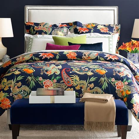 sonoma bedding new moon bedding navy williams sonoma