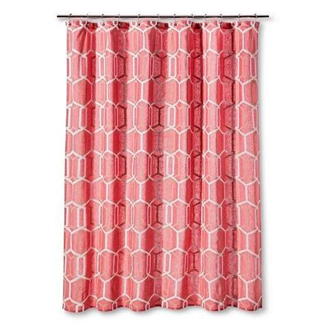 turquoise shower curtain target shower curtain coral geo threshold target shower