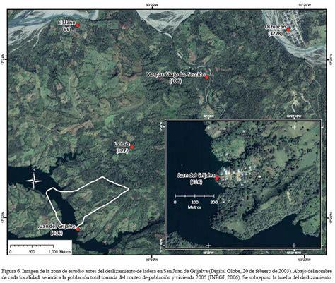 el derrumbe de la el deslizamiento de ladera de noviembre 2007 y generaci 243 n de una presa natural en el r 237 o