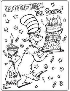 coloring pages dr seuss birthday 1000 images about seussabration on pinterest dr seuss
