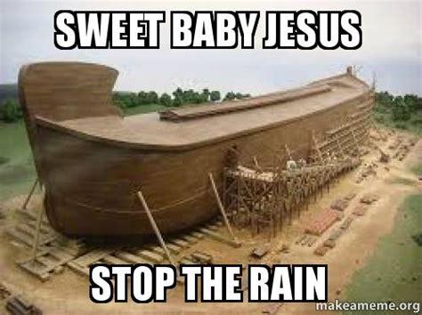 Sweet Baby Jesus Meme - baby make it stop meme jesus