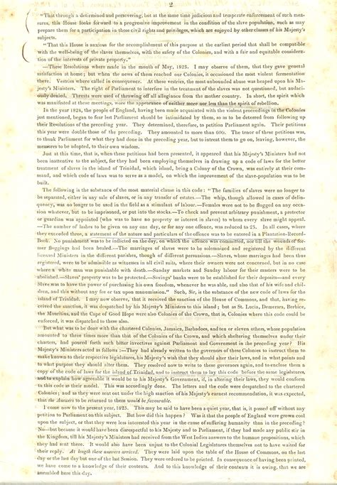Empire Essay by The Abolition Project Speech To The Inhabitants Of Ipswich
