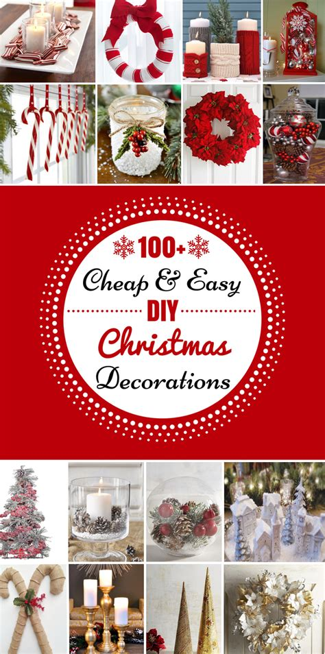 christmas diy home decor 100 cheap easy diy christmas decorations prudent penny