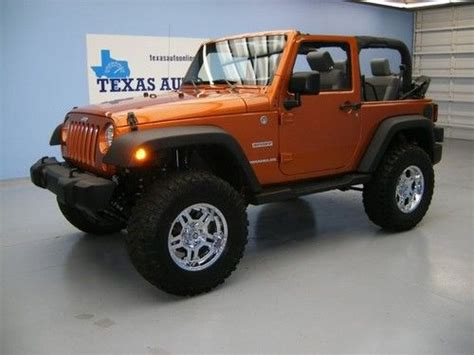 2010 Jeep Wrangler Lift Kit Sell Used We Finance 2010 Jeep Wrangler Sport 4x4 6