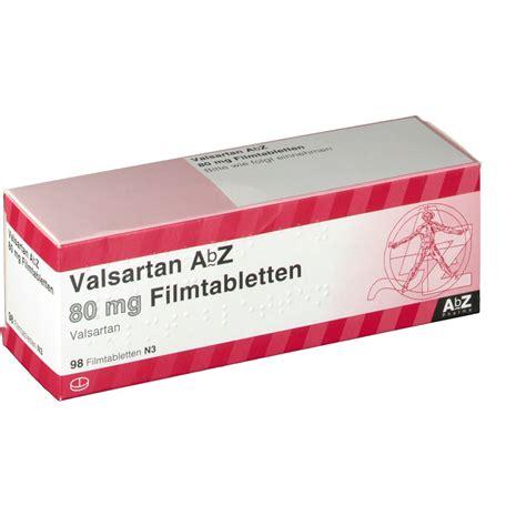 Varten 80 Valsartan 80 valsartan abz 80 mg shop apotheke