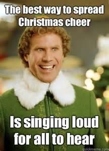 Buddy the elf singing meme