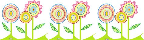 cenefa de flores cenefa floral estilocongue