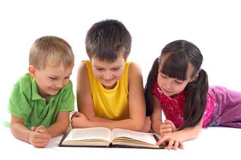 picture of children reading books using preschool for is a tough decision