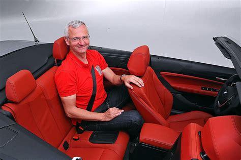 Bmw 2er Kindersitze by Bmw 2er Cabrio Sitzprobe Bilder Autobild De
