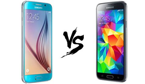 Samsung S6 Vs S5 Samsung Galaxy S6 Vs Samsung Galaxy S5 Comparativa