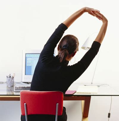 Exercise At Desk While Working by Exercise Legare