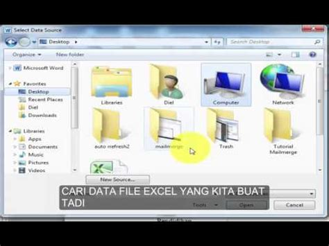 youtube tutorial office 2010 tutorial mail merge di microsoft office 2010 youtube