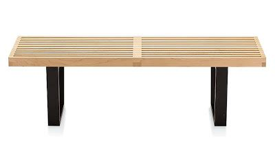 design within reach bench design within reach nelson platform bench copy cat chic