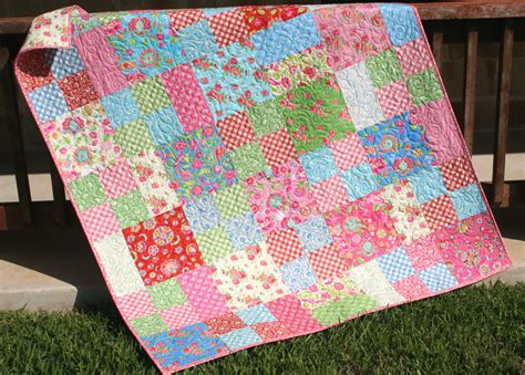 bunte steppdecken summer throw bright colorful quilt picnic blanket
