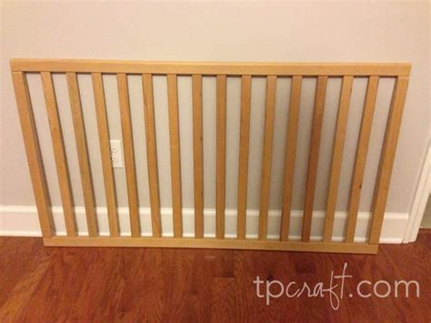 Crib Side Rail by Tpcraft Crib Rail Upcycled Into A Book Sling
