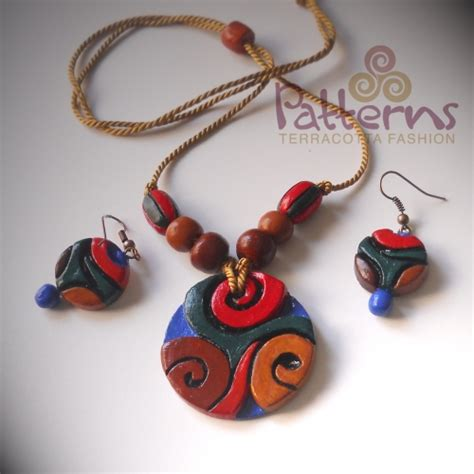 Handmade Terracotta Jewellery - qatar collections terracotta handmade jewellery