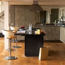 kitchen with island and breakfast bar made of metal kitchen islands with breakfast bars