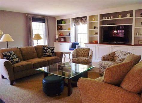 Groton Family Friendly Living Room