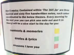 Guy Christmas Gift Ideas - perfect boyfriend puts 365 love notes in a jar for his girlfriend to read all year bored panda