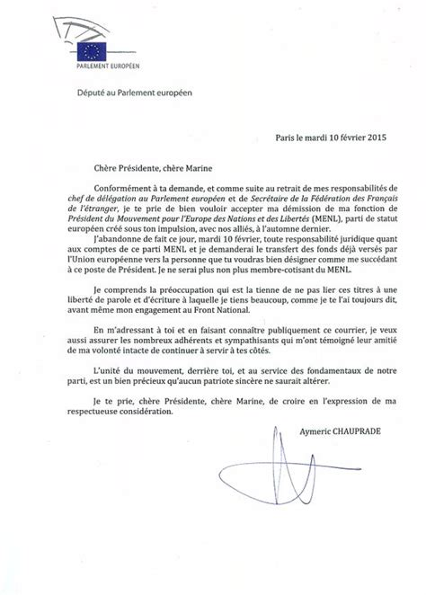 Exemple De Lettre De Démission Simple Sans Préavis Lettre De Demission Traduction Application Letter