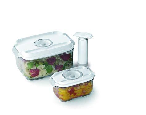 contenitori sottovuoto per alimenti laica contenitori per sottovuoto uso alimentare set 2