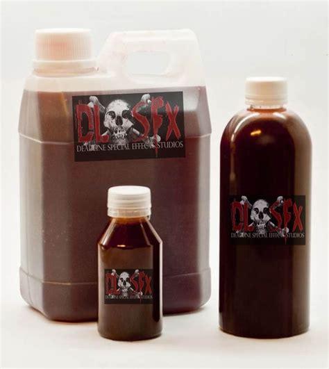 sangre artificial profesional 1 litro deadline sfx