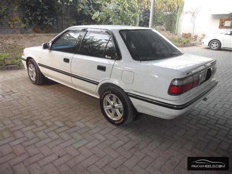 1991 Toyota Rims Toyota Corolla Tx 1991 For Sale In Peshawar Pakwheels