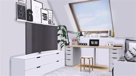 Ikea Ikea Sakkuning Peredam Teh 2 Pcs apple macbook samsung curved tv ikea nordli bench by mxims teh sims