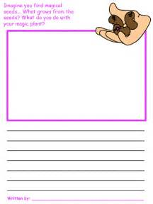And The Beanstalk Writing Template by And The Beanstalk Draw And Write