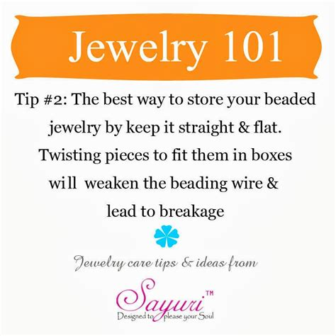 Care Tips 2 by Jewelry Care Tips Jewels Of Sayuri