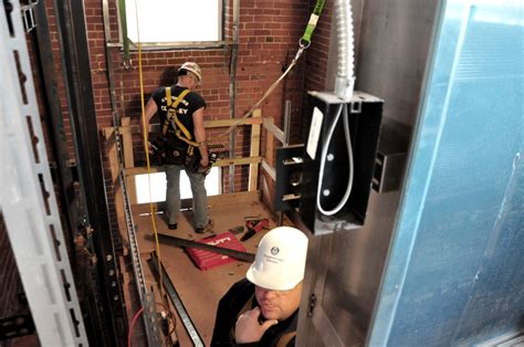 Elevator Installer by Inside The Building Technology Showcase Elevator Cleantech Notes Fraunhofer Center For