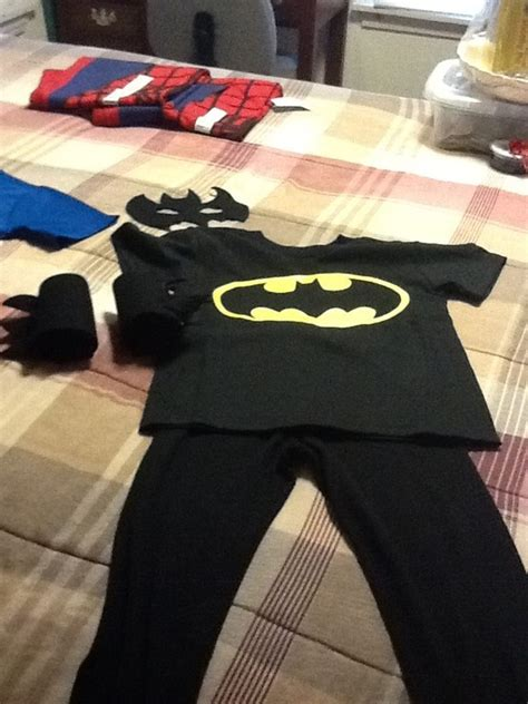 Handmade Batman Costume - batman costume disfresses