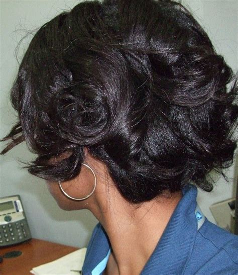 roller set relaxed hair roller setting relaxed hair who rollersets 2x s or more
