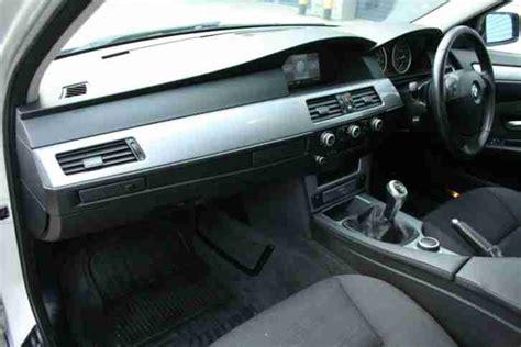 bmw 2007 07 530d 3 0td se manual silver diesel e60 5 series car for sale
