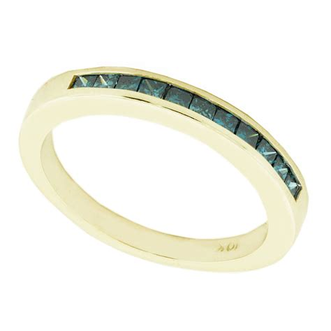 colored wedding bands 15 best of colored wedding bands